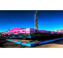 Fairground Attraction (Off-Season) Photographic Print