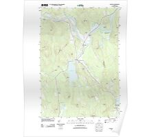 Maine USGS Historical Map Canton 20110913 TM Poster