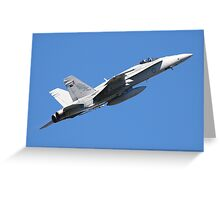 F/A18 Hornet Greeting Card