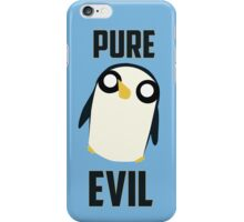 Evil is cute iPhone Case/Skin