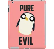 Evil is cute iPad Case/Skin
