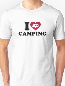 I love camping caravan trailer Unisex T-Shirt