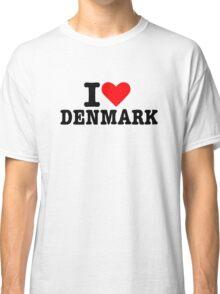 I love Denmark Classic T-Shirt