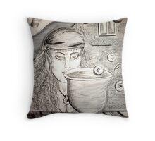 Symbolic Prelim Throw Pillow