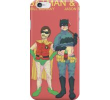 Batman & Robin Directed by Wes Anderson iPhone Case/Skin