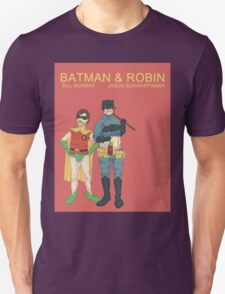 Batman & Robin Directed by Wes Anderson T-Shirt