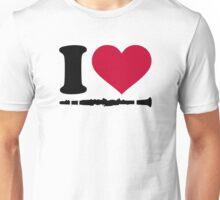I love Clarinet Unisex T-Shirt