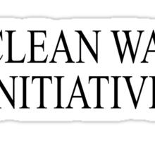 Clean Water Initiative Sticker