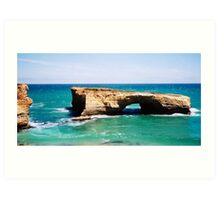 London Arch on the Great Ocean Road Art Print