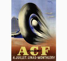 Vintage Racing Poster - Vintage Adverting Poster - Car / Grand Prix 1931 Unisex T-Shirt