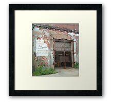 For Sale or Rent Framed Print