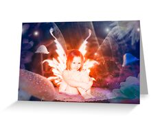 The garden fairy Greeting Card