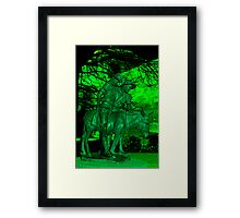 Weary and Wounded Framed Print