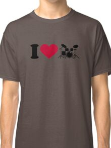 I love drums percussion Classic T-Shirt
