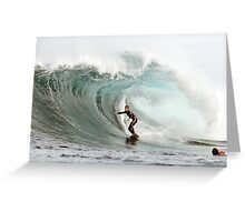 Surfing Shippies Greeting Card