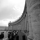 The gates of Vatican City by brettspics