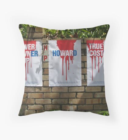 Red, White and True Throw Pillow