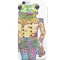 Wilfred the Witty White Lipped Tree Frog iPhone Case/Skin