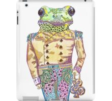 Wilfred the Witty White Lipped Tree Frog iPad Case/Skin