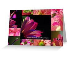 PINK Collection for the Cure - Collage  Greeting Card