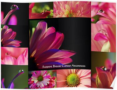 PINK Collection for the Cure - Collage  by trwphotography