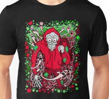 Hooded Skeleton Red Unisex T-Shirt