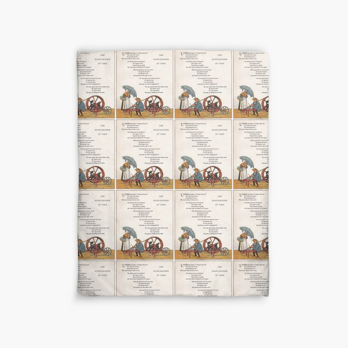 French School Book Cover : Quot french poem vintage school book available as art prints