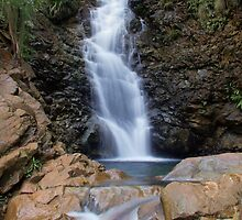 Cascades at Mt Koghi, New Caledonia by Roger Barnes