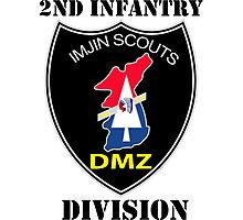 2nd Infantry Division - Imjin Scouts W/Text Photographic Print