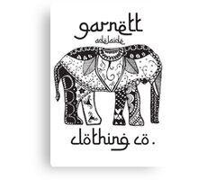 Garnett Elephant Print Canvas Print