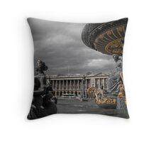 Place De La Concorde Throw Pillow