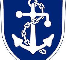 Logo of the Icelandic Coast Guard  by abbeyz71