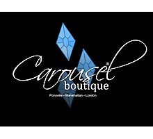 Carousel Boutique [inverted] Photographic Print