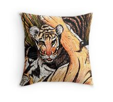Young One Throw Pillow