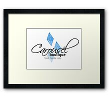 Carousel Boutique Framed Print