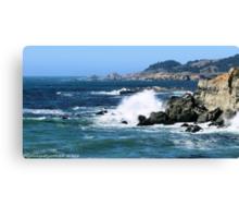 #578    Coastline Of Sonoma California Canvas Print
