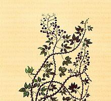 Medieval Vines and Bramble by pyktispix