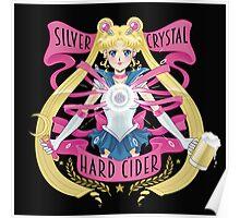Silver Crystal Hard Cider Poster