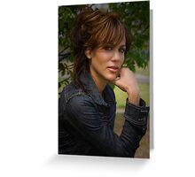 Nicole Ari Parker Greeting Card