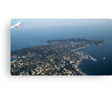View over Cap d'Antibes Canvas Print