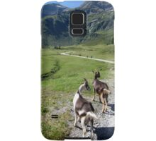 Hiking with the Goats Samsung Galaxy Case/Skin
