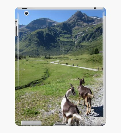 Hiking with the Goats iPad Case/Skin
