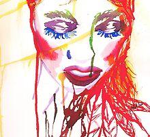 Ink Girl by jlillustration
