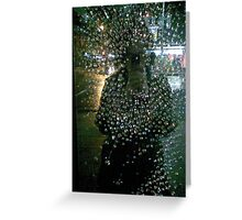 earthstars fall out across the citynight conscious Greeting Card