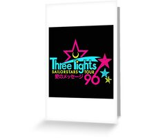 Three Lights Sailorstars Tour '96 Greeting Card