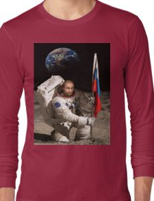 Putin in Space Long Sleeve T-Shirt
