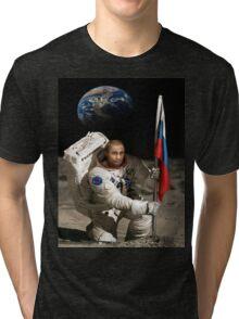 Putin in Space Tri-blend T-Shirt