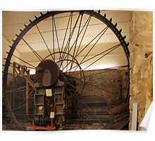 World's largest Pelton Wheel: 30 feet Poster
