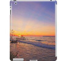 Twilight on Lake Michigan iPad Case/Skin