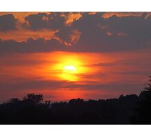 North Carolina Sunset Everyday Photographic Print
